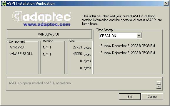 fichier wnaspi32.dll