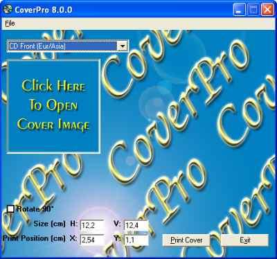 capture écran CoverPro
