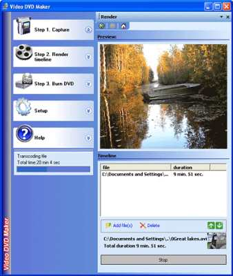 capture écran Video DVD Maker Free