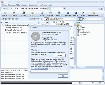 capture écran GDRP