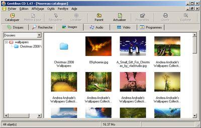 capture écran Gentibus CD