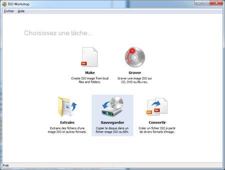capture écran ISO Workshop
