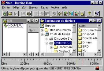 capture écran Nero Burning ROM 5